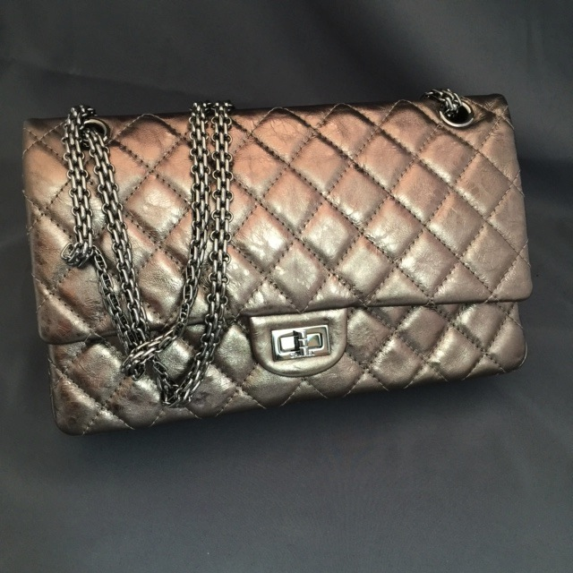 Sac Chanel 2.55 bronze