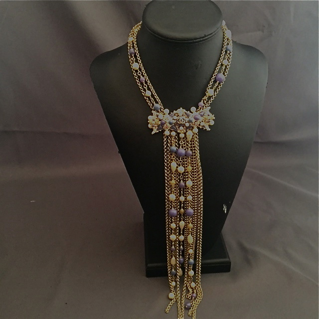collier fantaisie Chanel